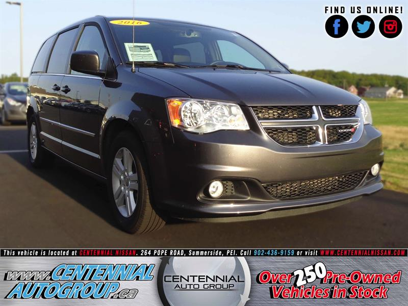 2016 Dodge Grand Caravan Crew Plus | 3.6L | V6 #SP17-032