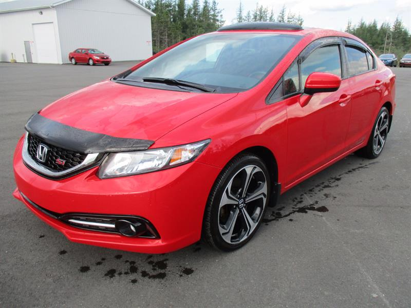 2015 Honda Civic Sedan 4dr Man Si #H17344A