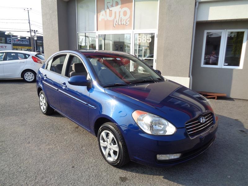 Hyundai Accent 2009 4dr Sdn #9238
