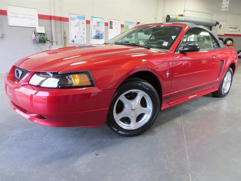 Ford Mustang 2001 V6 Convertible *BAS KILO +TRÈS BEAU* #37631A
