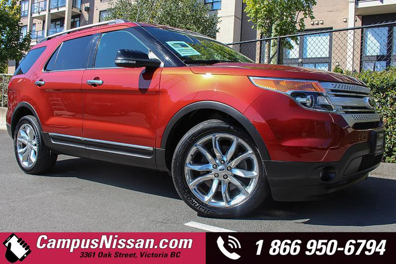 2014 Ford Explorer XLT w/ Rearview Cam + Leather #JN2695