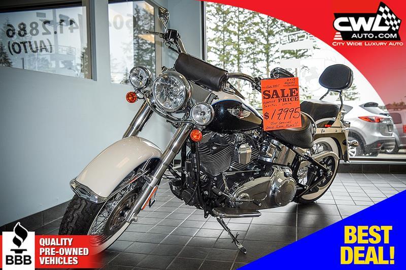 2013 Harley Davidson Softail FLSTN Deluxe - 5,200 Km's !  #CWL7895M