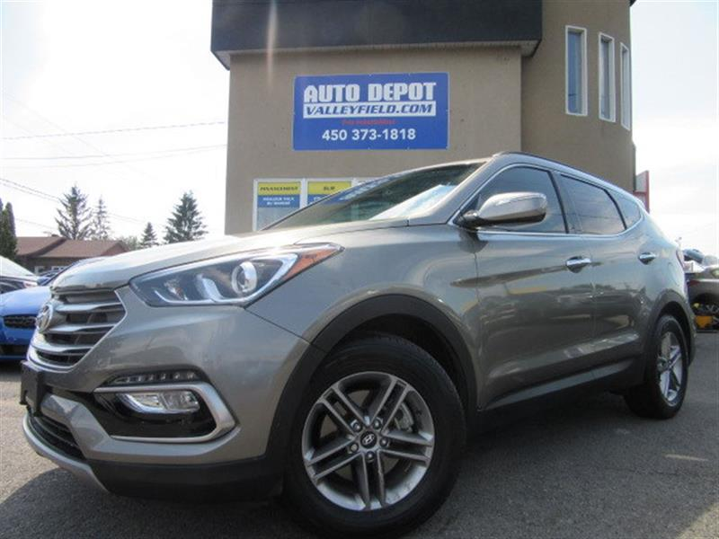 Hyundai Santa Fe Sport 2017 AWD + CAMERA, MAGS, CRUISE, AC #MM031