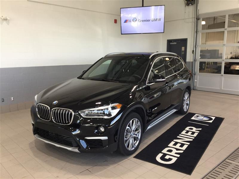 bmw x1 xdrive28i essentiel sup rieur d monstrateur 2017. Black Bedroom Furniture Sets. Home Design Ideas