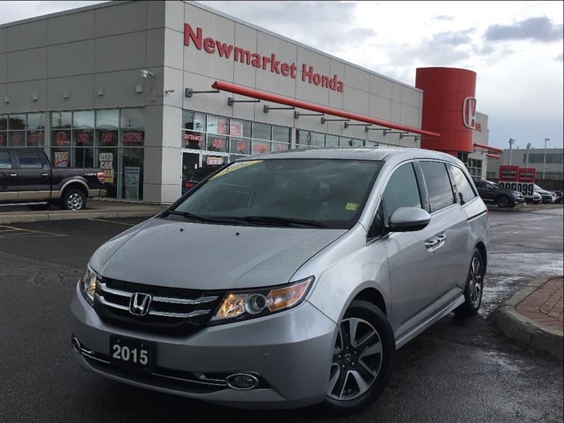 2015 Honda Odyssey Touring w/RES & Navi #18-046A