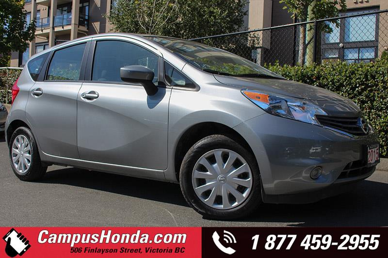 2015 Nissan Versa Note S Manual w/ Low KM #JN2667