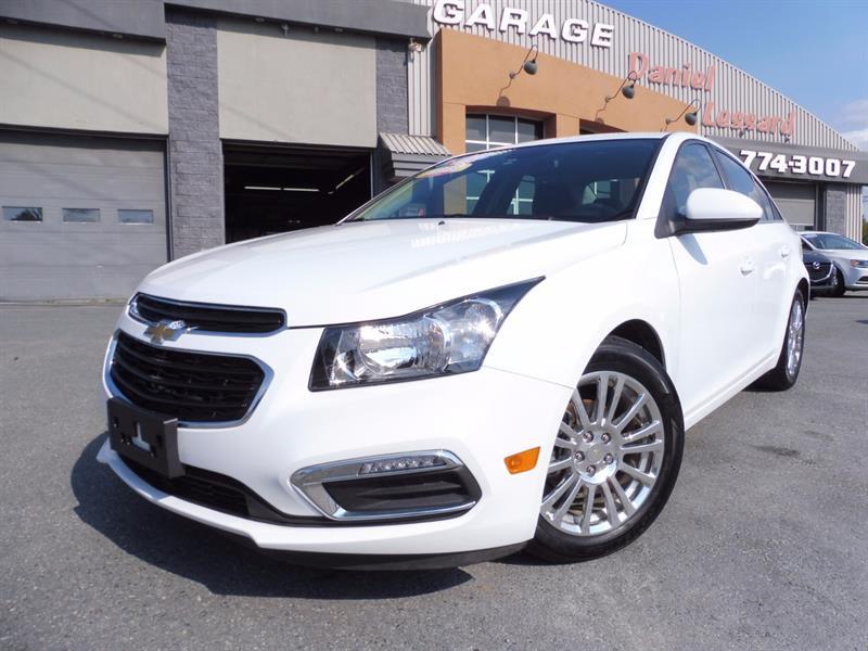 Chevrolet Cruze Limited 2016 LIMITED ECO 1.4 LITRES, 4 PORTES, CAMÉRA ET PLUS ! #67445