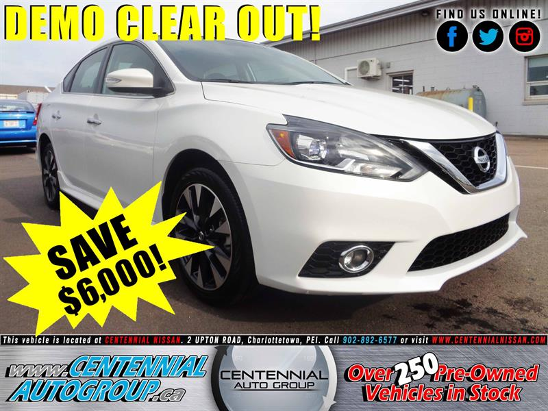 2017 Nissan Sentra SR Turbo *DEMO - SAVE $6,000!* #17-022
