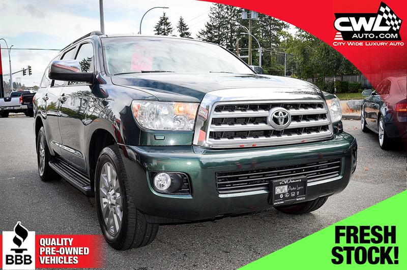 2008 Toyota Sequoia 4WD Limited - Rare !  #CWL8055M