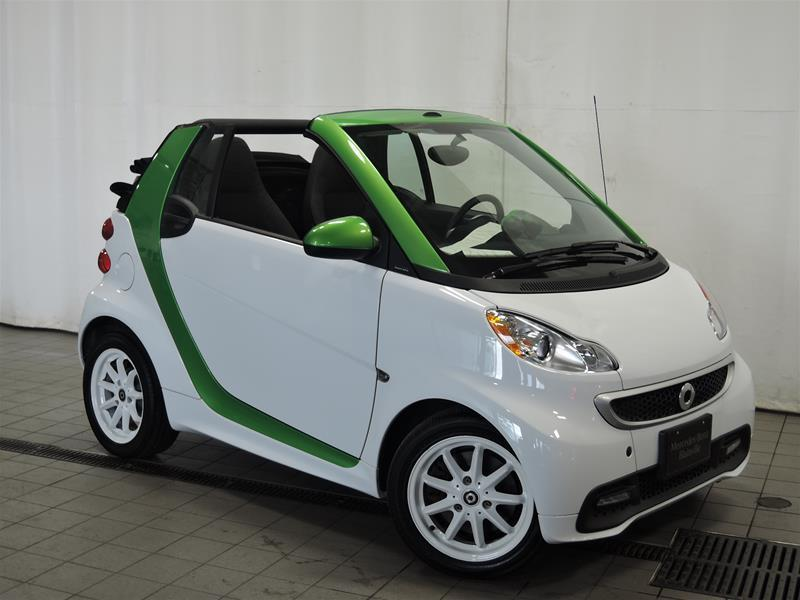 Smart fortwo 2014 electric drive cab *CONVERTIBLE* #U17-225