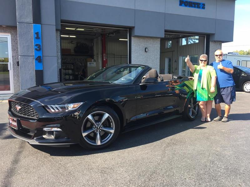 Ford Mustang 2016 2dr Conv V6 #A6431