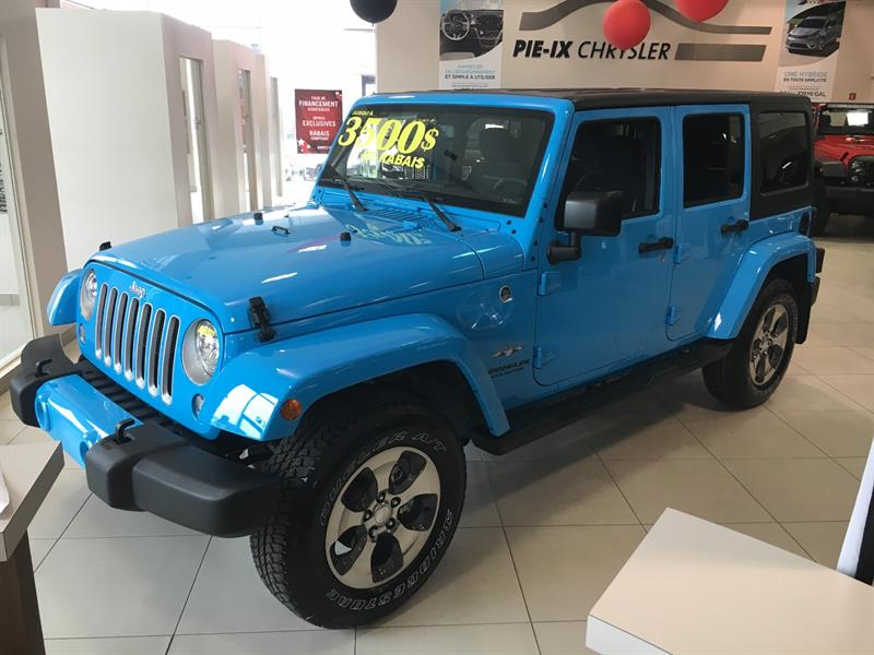 Jeep Wrangler Unlimited 2017 4WD 4dr Sahara #Z17749