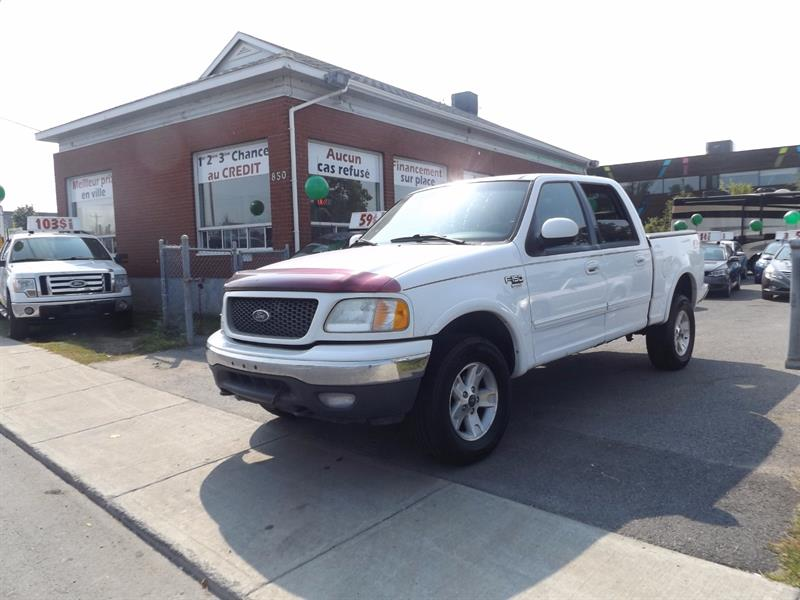 Ford F-150 2002 SuperCrew 139 4WD #1884-08