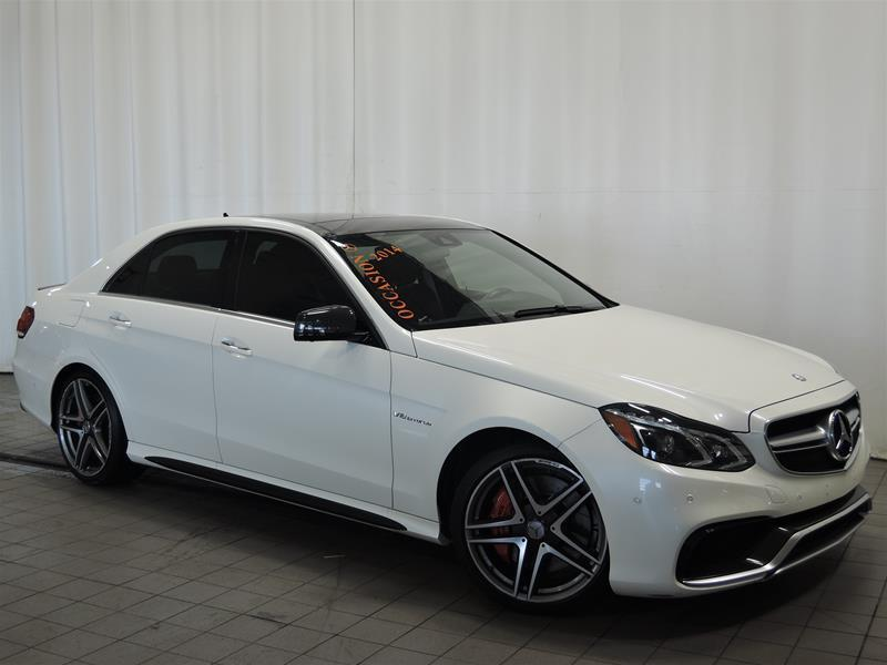 Mercedes-Benz E63 AMG 2014 S-Model 4MATIC Sedan **2 ÉCRAN DVD ** #U17-245