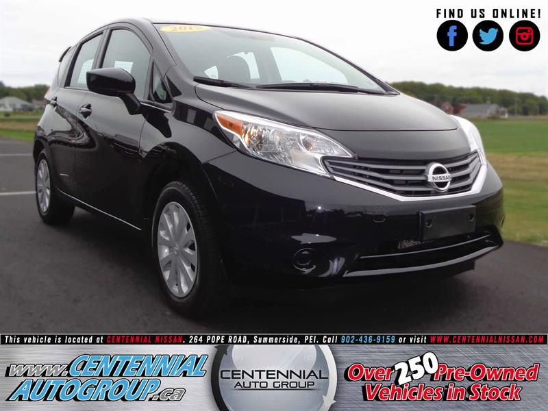2015 Nissan Versa Note S | 1.6L | i4-Cyl | 5-Speed Manual #SP17-034