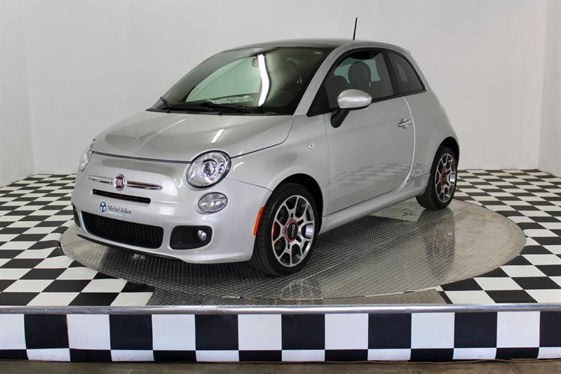 Fiat 500 2012 Sport (toit ouvrant + mag) #A6353
