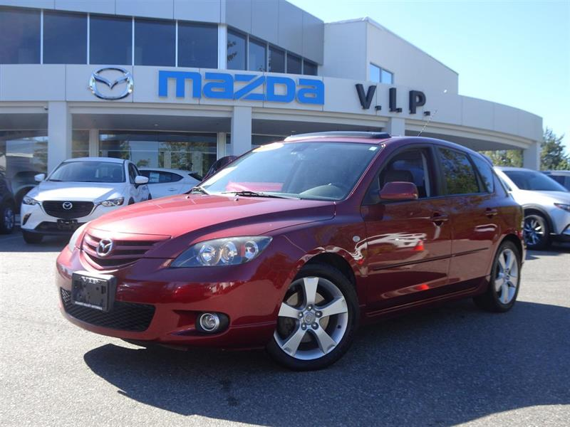2006 Mazda MAZDA3 GT, LEATHER, SUNROOF #7420A