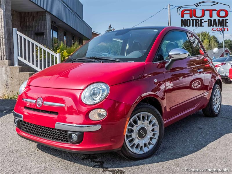 Fiat 500 2014 2dr HB Lounge CUIR TOIT MAGS  #K0617