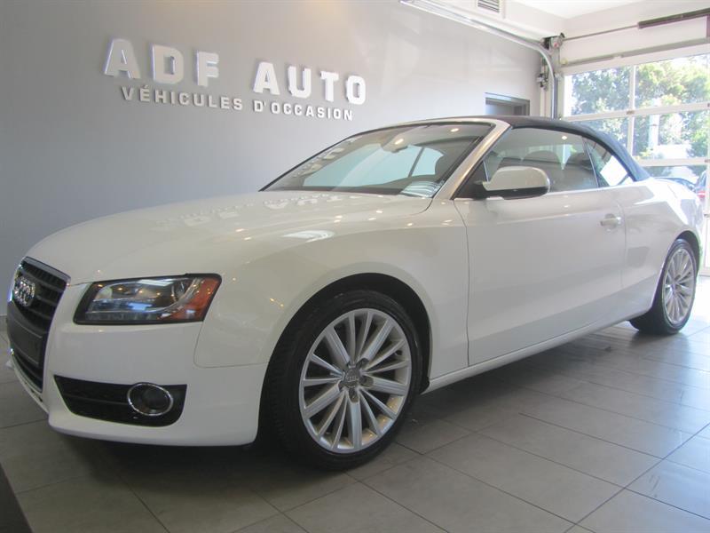 Audi A5 2010 2.0T / Cabriolet / QUATTRO #4223