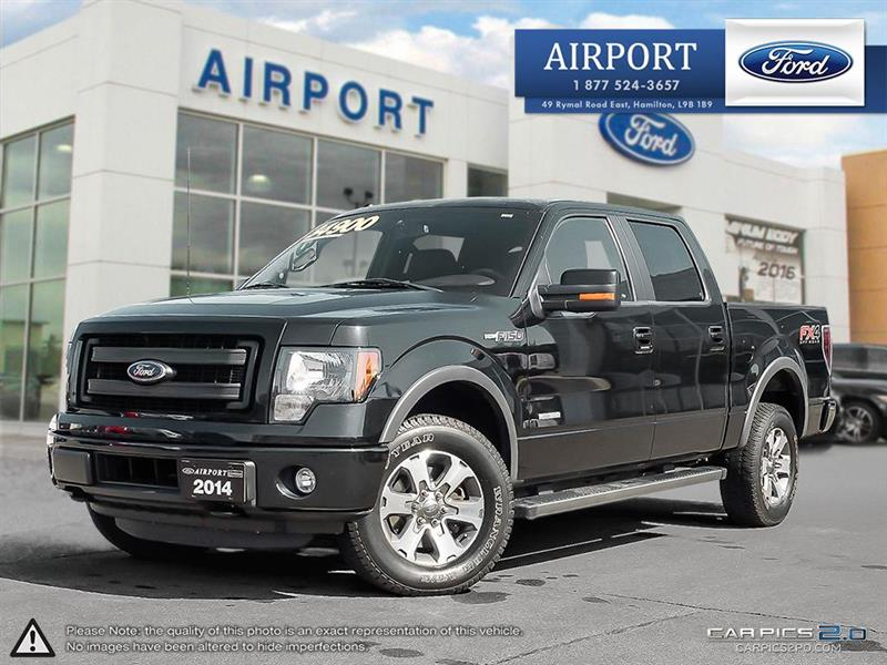 2014 Ford F-150 4WD SuperCrew #A70964