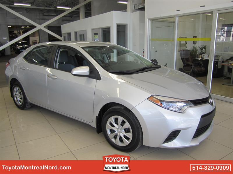 Toyota Corolla 2014 CE Gr. Electric #2831 AT
