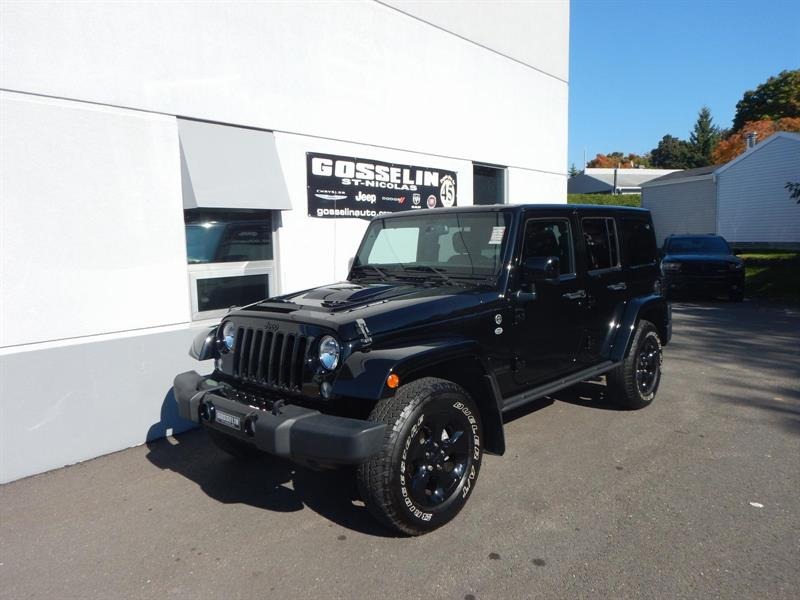 Jeep Wrangler Unlimited 2015 Sahara ALTITUDE *PLAN OR 5/10* #J4430A