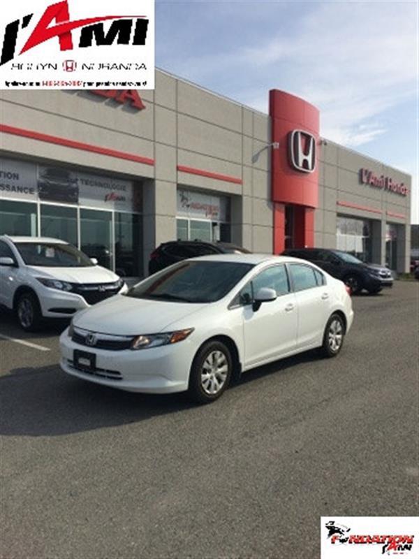 Honda Civic 2012 LXAUTOMATIQUE #17395A