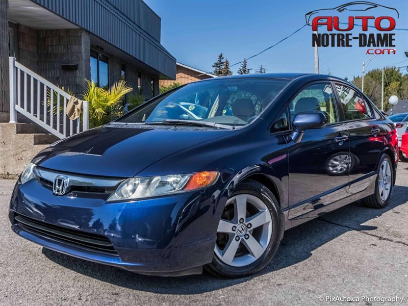 Honda Civic Sdn 2006 4dr LX AUTOMATIQUE AIR ** NOUVEL ARRIVAGE  #K0593