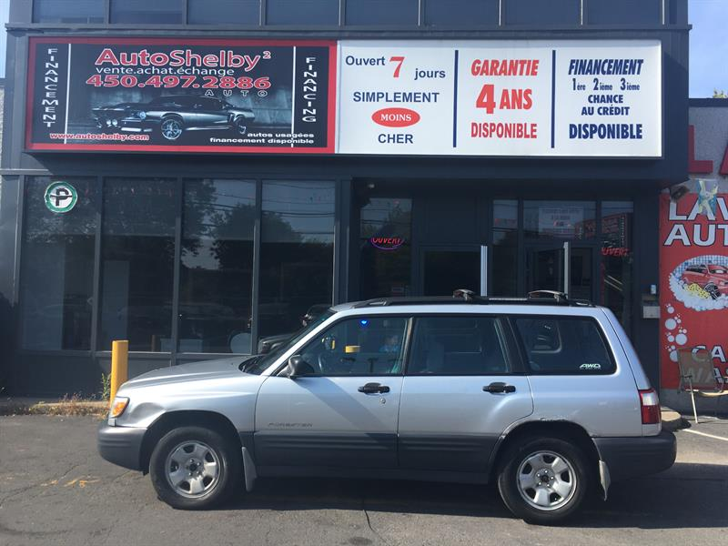 Subaru Forester 2002 AWD-WAGON-AUTOMATIC-AIR-GROUPE ELECTRIQUE #94146
