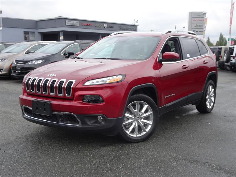 2017 Jeep Cherokee Limited #17UP388