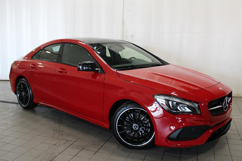 Mercedes-Benz CLA250 2018 4MATIC Coupe #18-0176