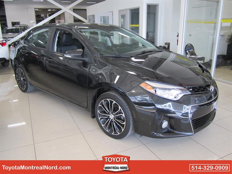 Toyota Corolla 2014 S + Toit + Mags+ Cuir #2833 AT