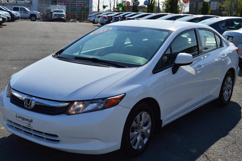 Honda Civic 2012 LX #U7867