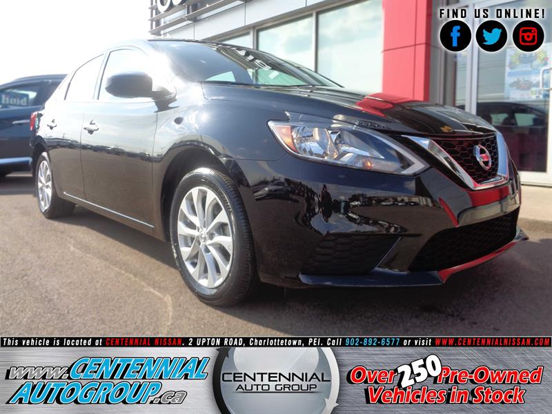 2017 Nissan Sentra SV | FWD | Bluetooth | Backup Camera | Heated Seat #P17-173