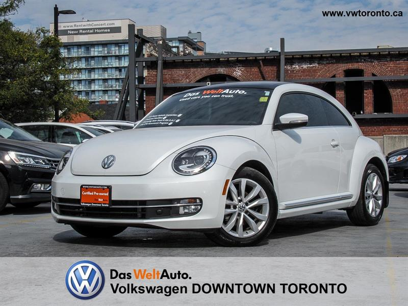 2015 Volkswagen Beetle TDI COMFORTLINE #P2493