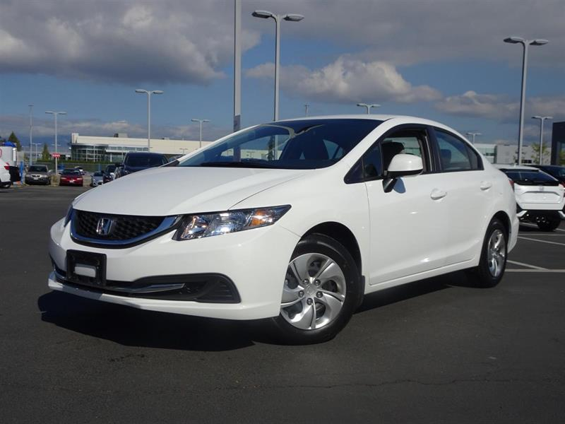 2013 Honda Civic LX! Honda Certified Extended Warranty to 160,000 K #LR3650
