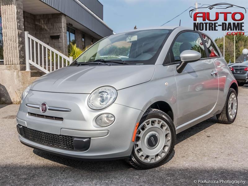 Fiat 500 2012 2dr HB Pop ** NOUVEL ARRIVAGE **  #K0611