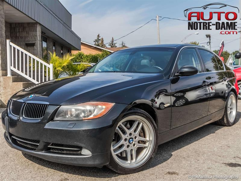 BMW 3 Series 2007 4dr Sdn 335xi AWD Seulement 56.06$ / Semaine*  #K0528A