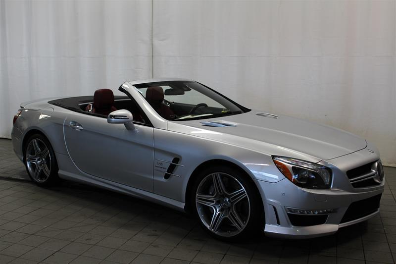 Mercedes-Benz SL63 AMG 2013 Roadster irridium int rouge #U18-0130A