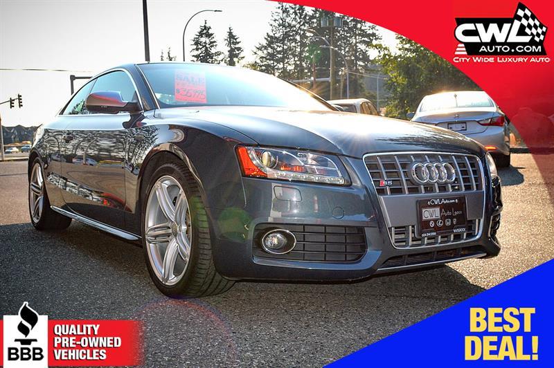 2011 Audi S5 Premium V8 Coupe  #CWL8041M