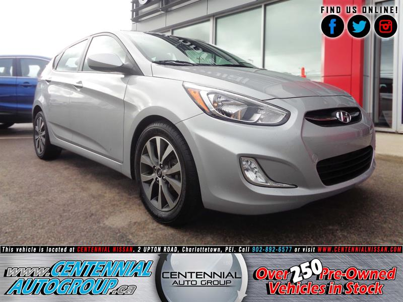 2017 Hyundai Accent GLS | Moonroof | Heated Seats | Bluetooth #P17-179