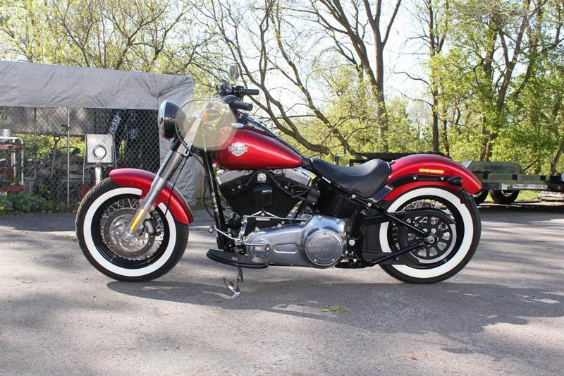 Harley Davidson FLS 2013