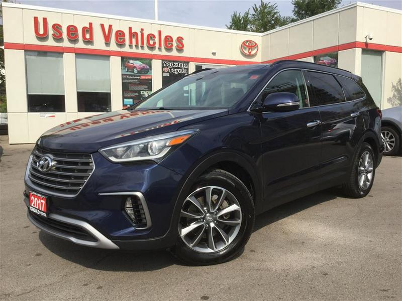 2017 Hyundai Santa Fe Xl LUXURY- AWD, NAV, BSM, PANOROOF, 7 PASS #P6707