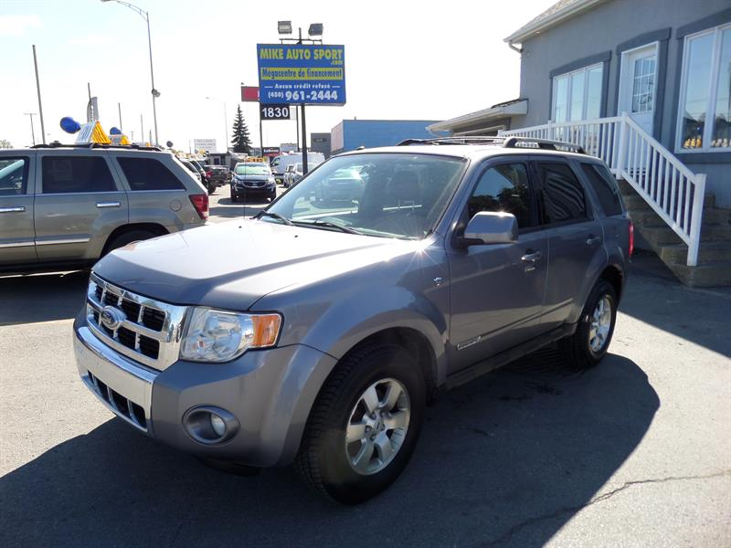 Ford Escape 2008 4WD 4dr V6 Limited #17-315
