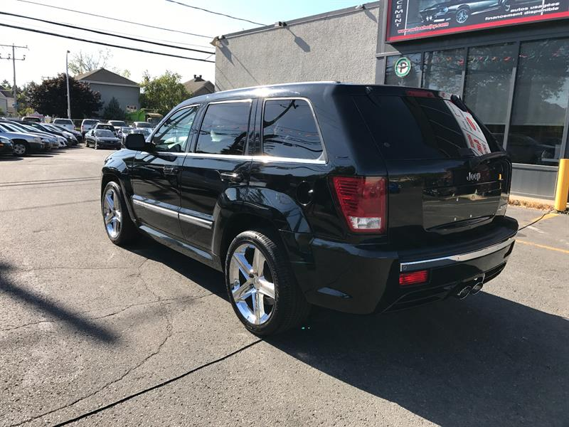 Jeep Grand Cherokee Srt8 Awd Cuir Jamais Accidenter 2007 Occasion A