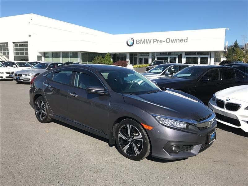 2016 Honda Civic Sedan Touring CVT #BP5443
