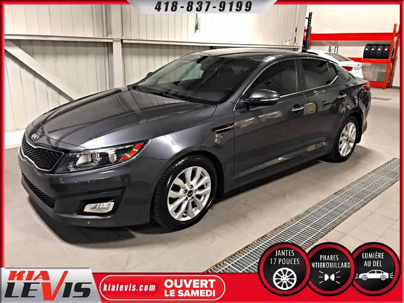 Kia Optima 2015 EX-AUTO-CUIR-FULL-MAGS 17'' #1200