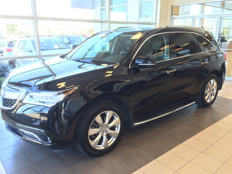 Acura MDX 2016 SH-AWD ** ELITE ** GPS ** DVD #pu5501