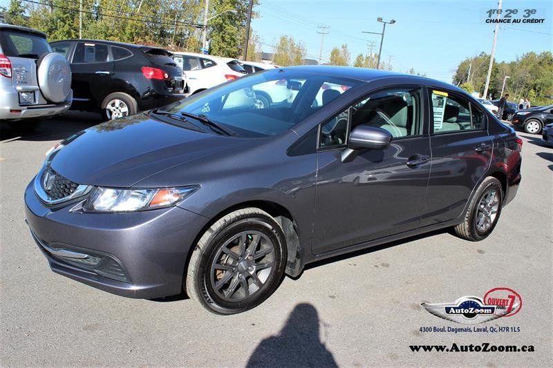 Honda Civic Sdn 2015 LX  #A4189