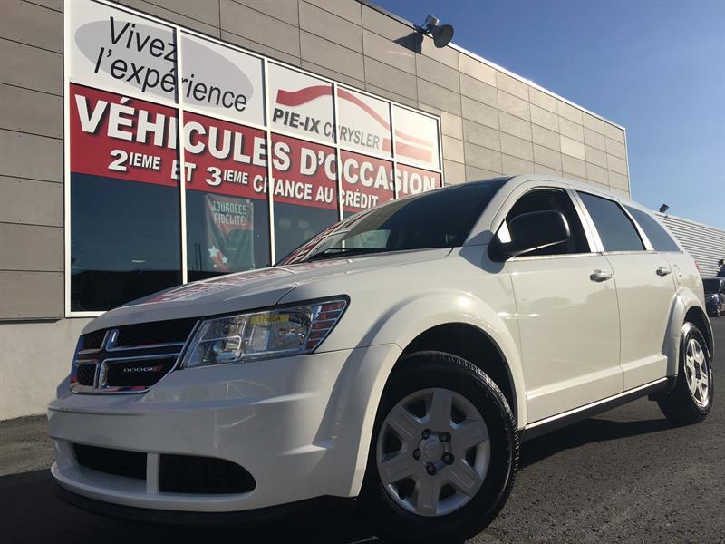 Dodge Journey 2012 FWD+SE PLUS 4dr+MAGS+A/C+GR.ELEC+WOW! #17465A